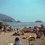 Spanish beach – August 1975