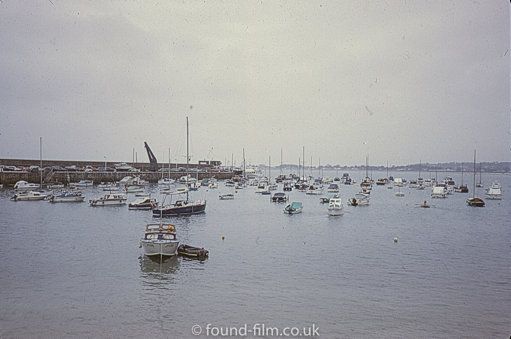 Boats in a harbour