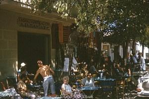 Greek street scene