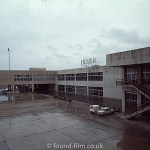 Ibiza airport on wet day in January 1974