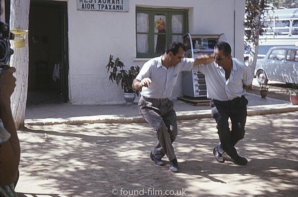 People dancing in Greece - September 1966