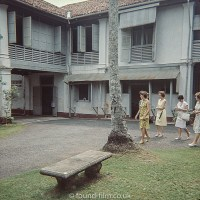 Looking round houses in Singapore early 1960s