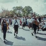 Morris men parade
