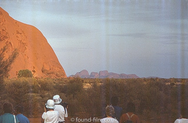 Pictures of Ayres Rock - possibly in the evening
