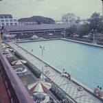 Swimming pool at RAF Seletar social club
