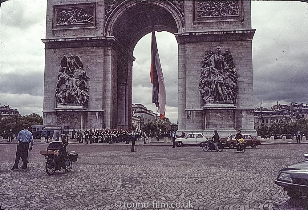 Arc de Triomphe - July 1979