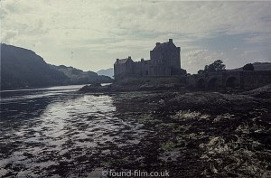 Eilean Donan Castle in the dusk
