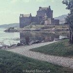 Eilean Donan Castle viewed from gardens