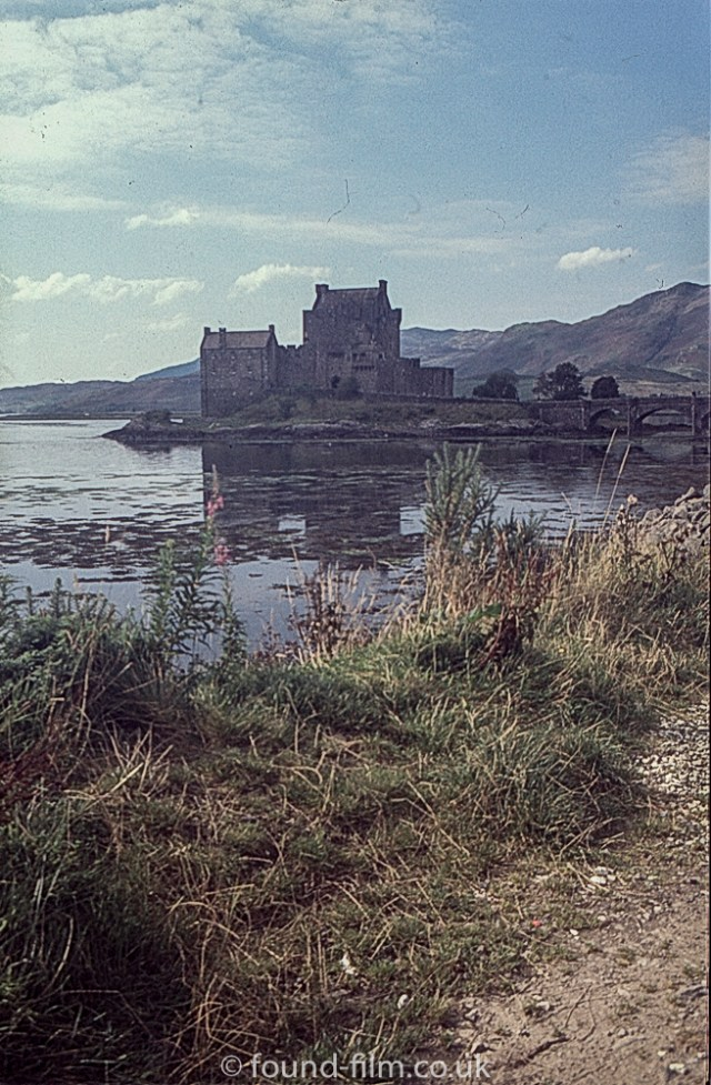 Eilean Donan Castle with fill in flash