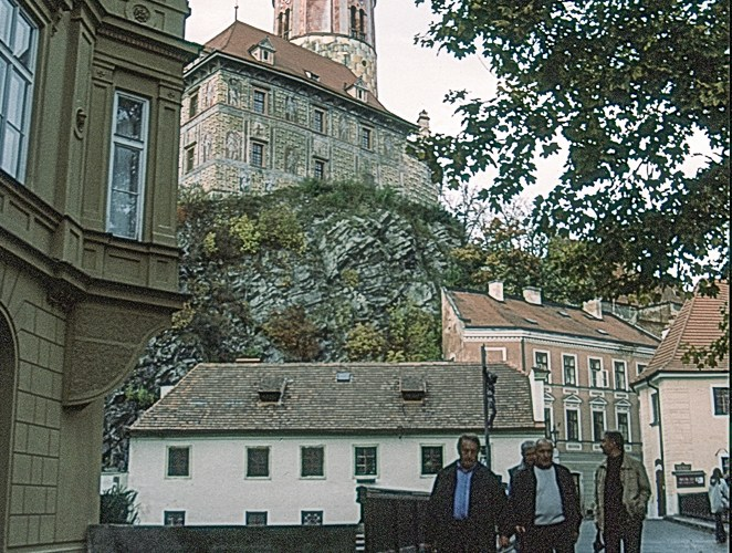 Cesky Krumlov backstreet