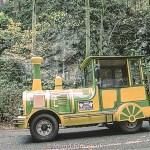 Green Yellow Train in Czech Republic – 2001