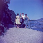 A group portrait on a mountain pass c1960
