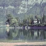 Lake Lugano in Switzerland – early 1960s
