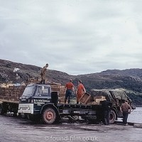 Loading Herring at Ullapool in 1967