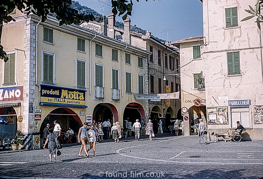 Shopping Arcades in Lugano, Switzerland 1961