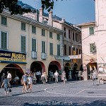 Shopping Arcades in Lugano, Switzerland 1961