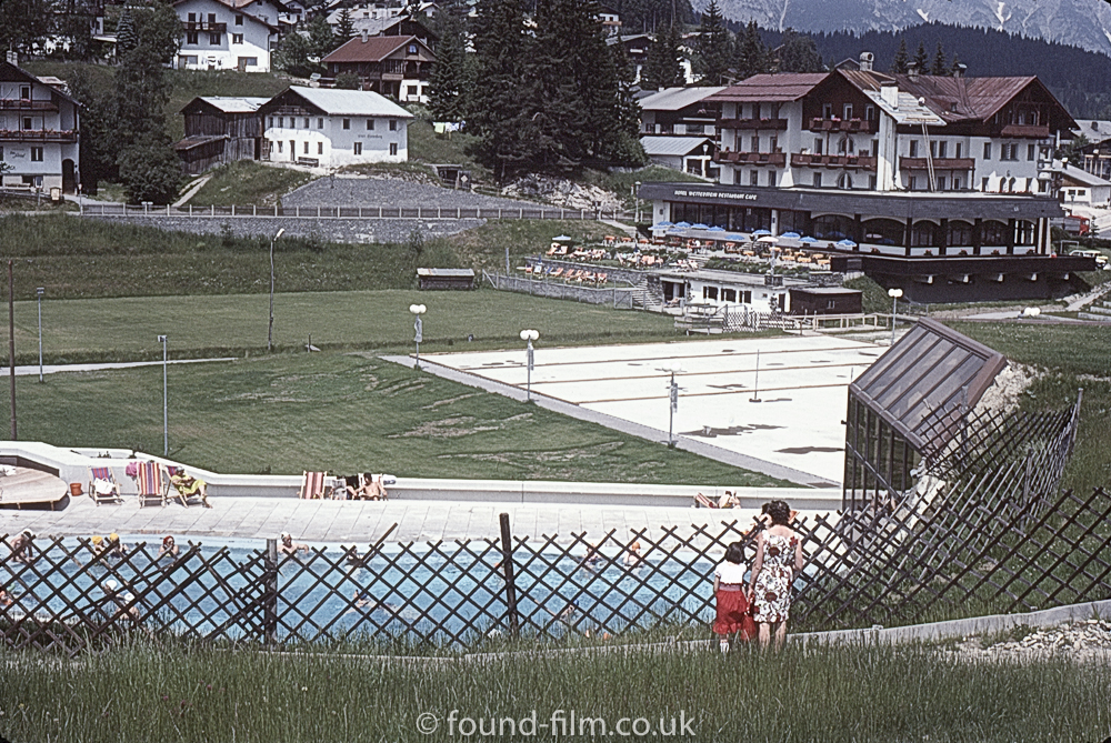 Outdoor pool at Seefeld - July 1977