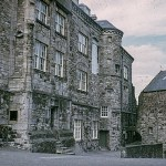 Stirling Castle courtyard