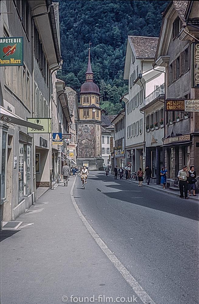 Altdorf Street Scene in 1962