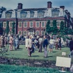 Garden Party at large house c1960