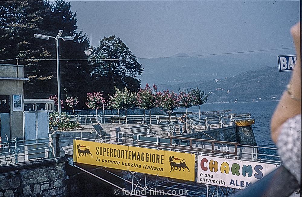 The landing stage at Baveno