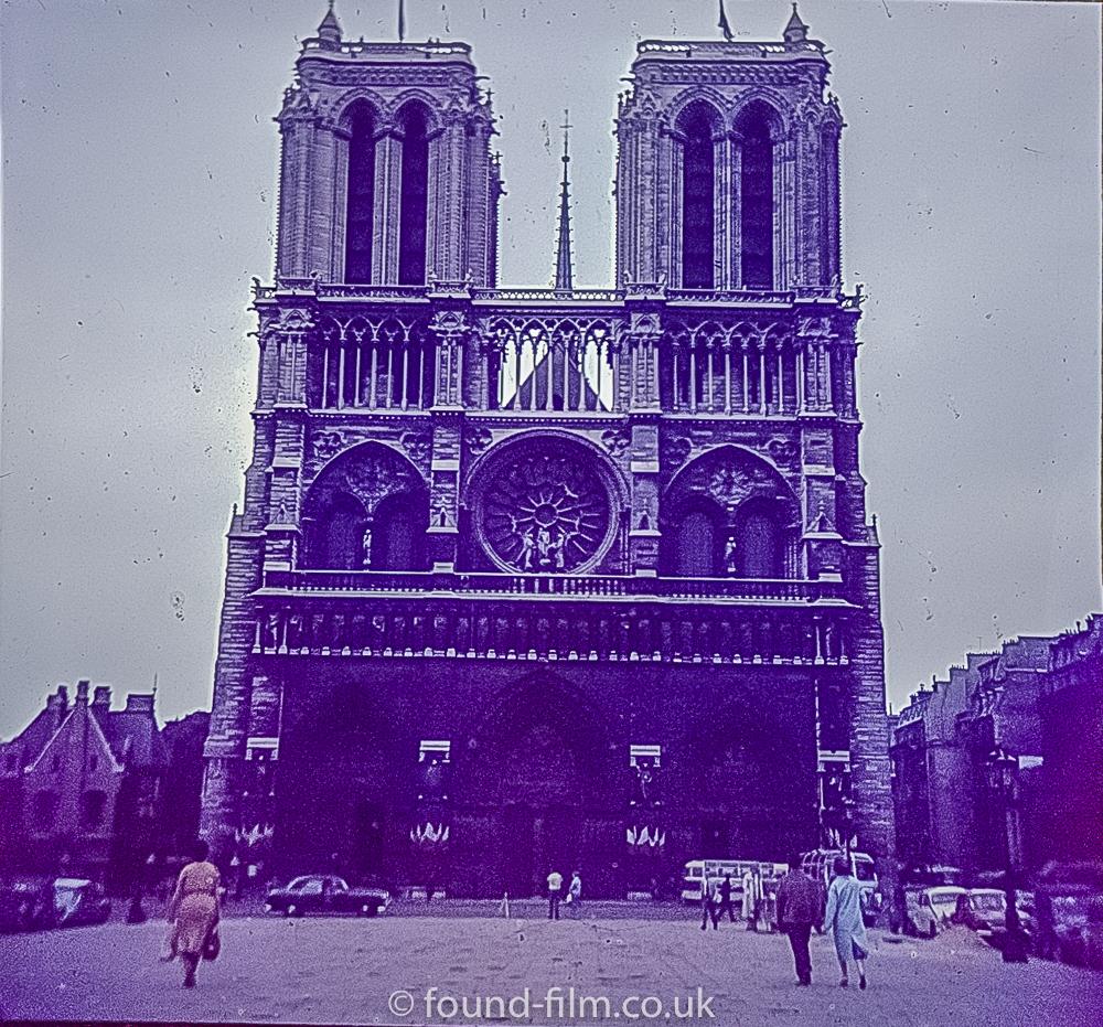 Notre Dame cathedral Paris c1960