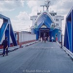 Olau Kent Ferry boarding in Oct 1976