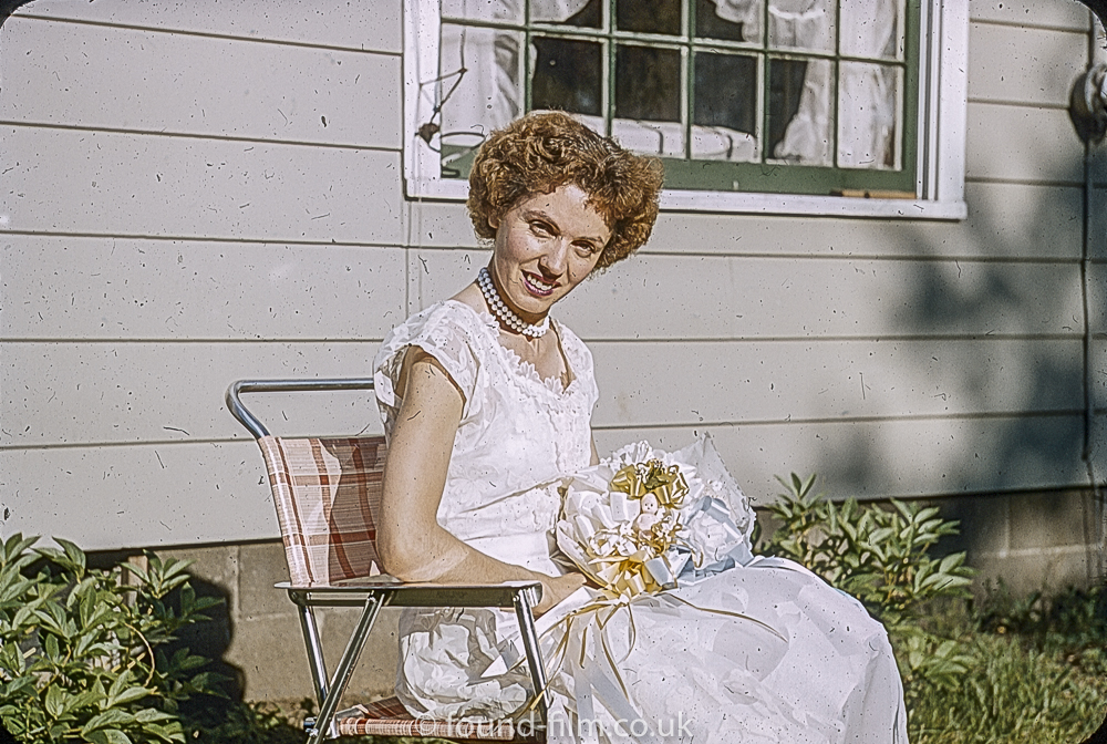 A Bride in August 1955