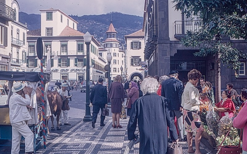 Portugal Street scene from the early 1960s