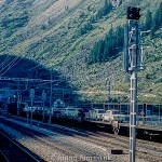 Pictures of Lakes and Mountains in Europe - A Railway tunnel through the alps c1960