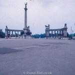 Heroes' Square in Budapest in the 1960s
