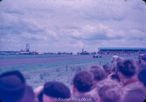 Motor race meeting from the 1950s