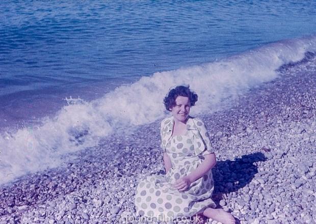 Pretty girl on a beach