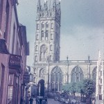 St Mary's Church Warwick in about 1950