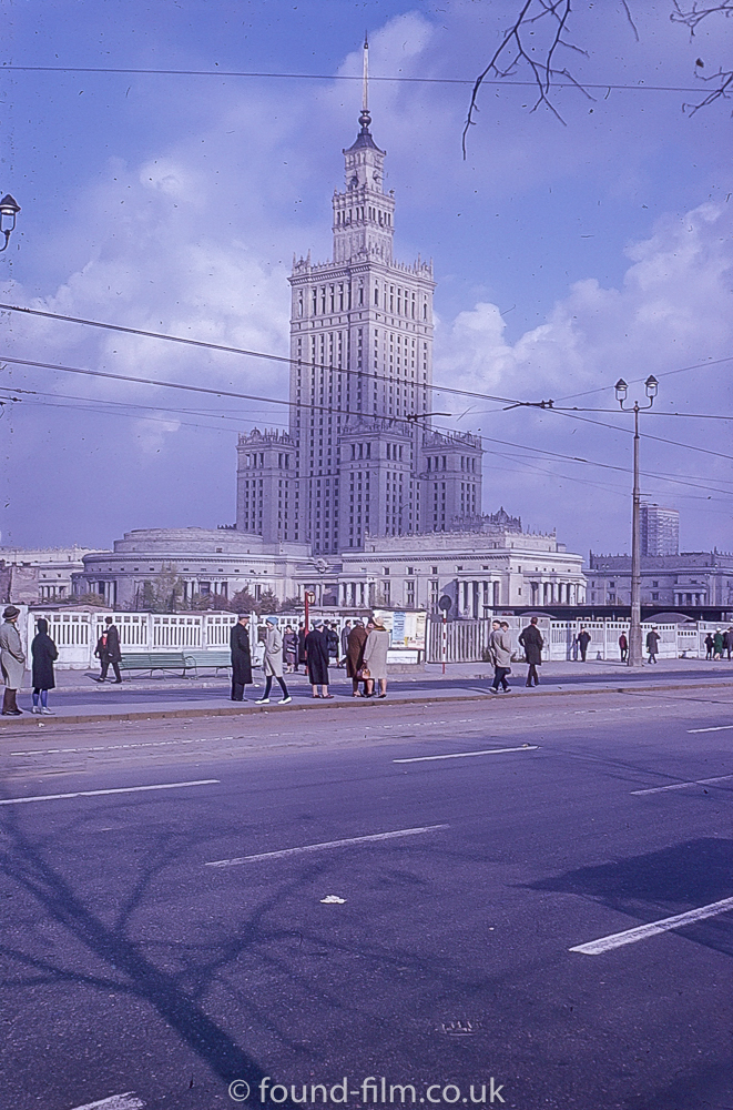 The Warsaw Palace of Culture and Science