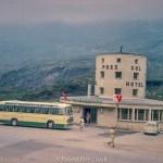 Medium format negatives - Hotel Monteleone Simplon Dorf Switzerland