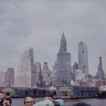 New York Skyline in the 1950s