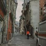 Views around Europe - Ille Et Vilaine back street in France, 1976