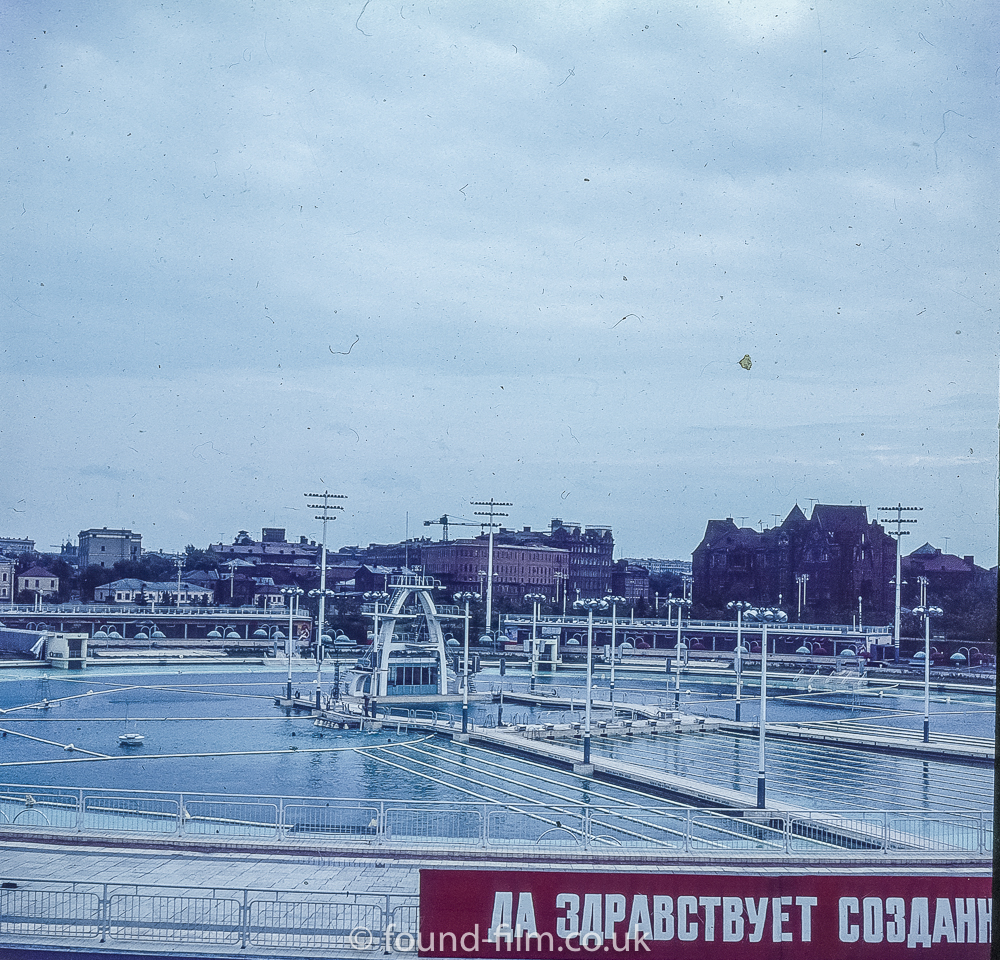Images from Soviet Era Moscow - Moscow Swimming Pool - 1957