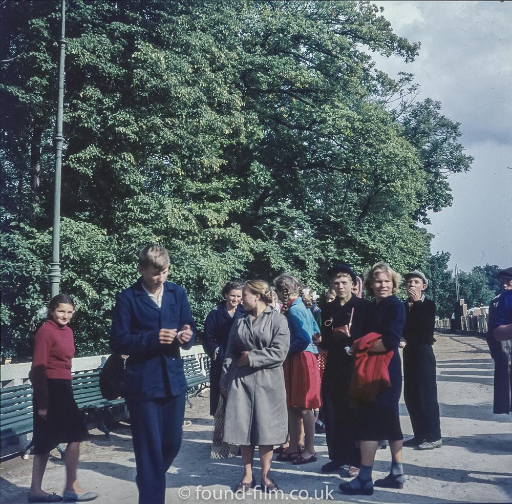 Images from Soviet era Leningrad - The Chewing gum boy