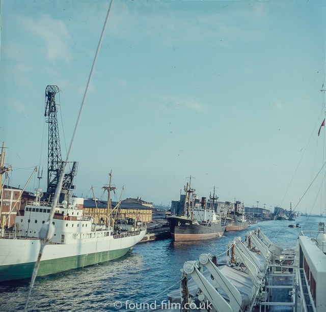 Images from Soviet era Leningrad - The Port at Leningrad