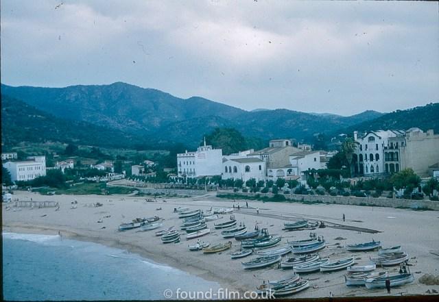 Pictures of Spain from 1955 - Tossa De Mar Spain, Sept 1955