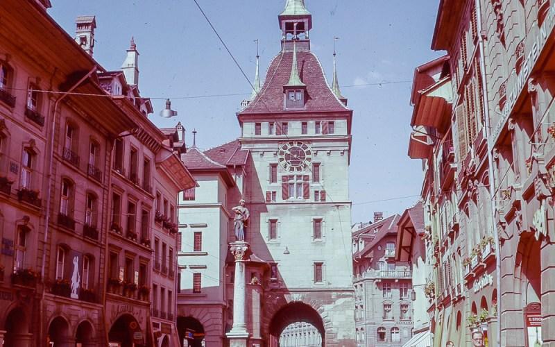 Anna Seiler Fountain, Bern - 1957