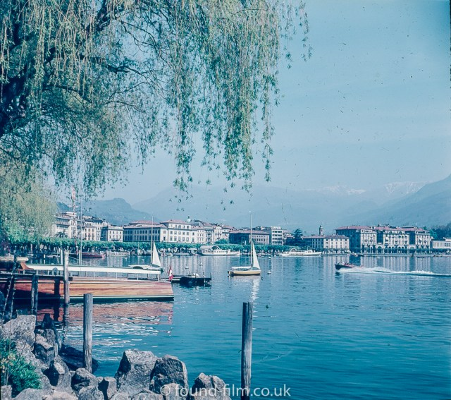 Lugano in Switzerland in 1957