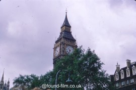 The tower of Big Ben