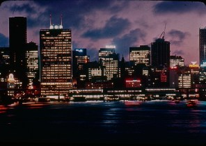 Views around Australia - Skyline of Sydney at night