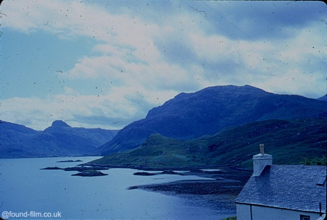 A picture of the hills around Ullapool in August 1967