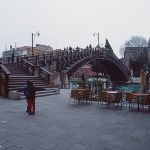 Picture of the Ponte dell'Accademia bridge from April 1996