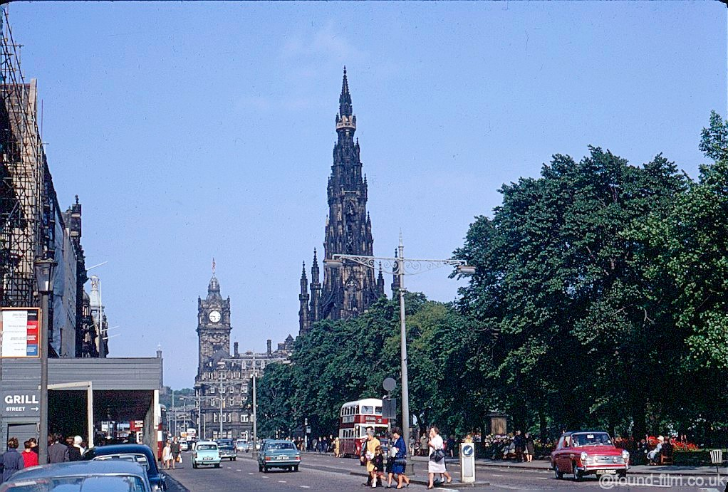 Snapshots in time: Edinburgh July 1967
