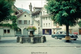 A Fountain in Switzerland in about 1962